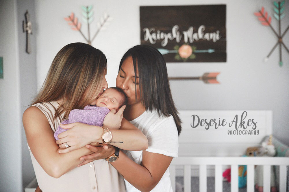 First Time's a Charm With ART for Two Moms Christina and Shalene